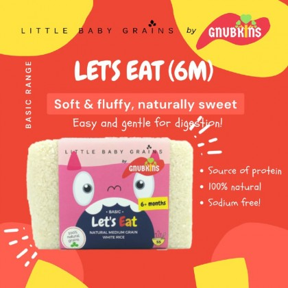 LITTLE BABY GRAINS - LET'S EAT (FROM 6 MONTHS)